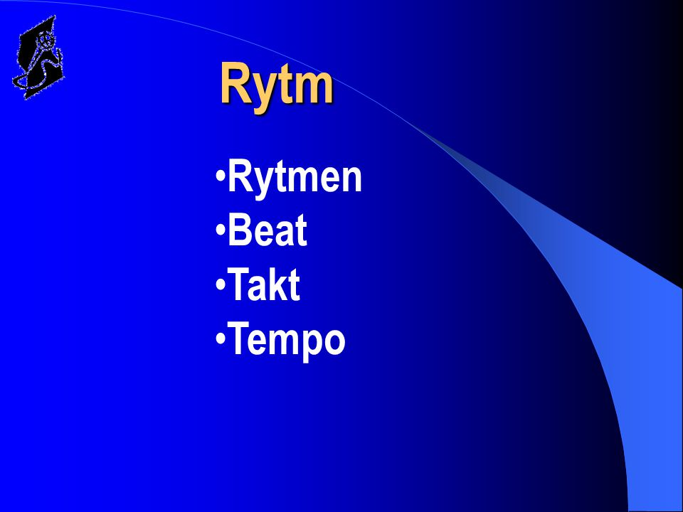 Rytm Rytmen Beat Takt Tempo