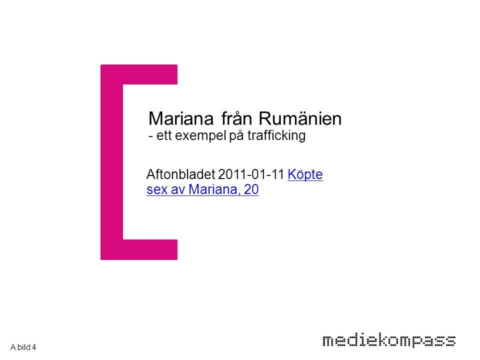 Aftonbladet 2011-01-11 Köpte sex av Mariana, 20