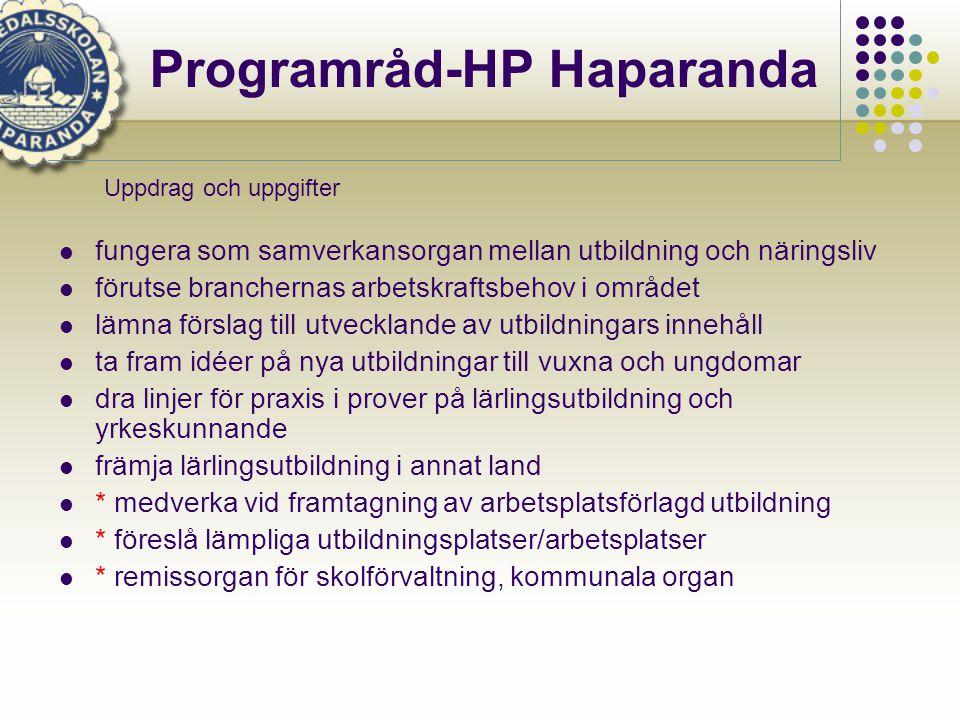Programråd-HP Haparanda