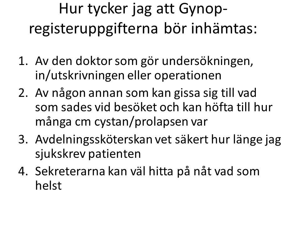Hur tycker jag att Gynop-registeruppgifterna bör inhämtas: