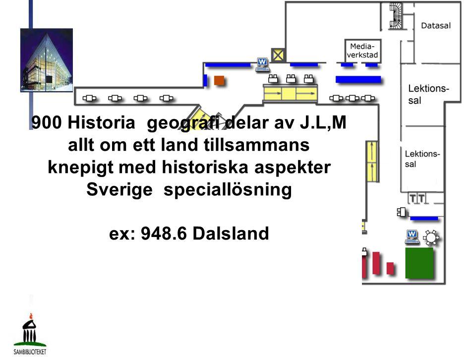900 Historia geografi delar av J