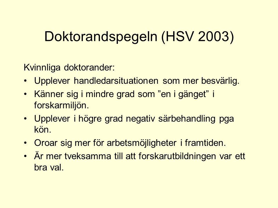 Doktorandspegeln (HSV 2003)