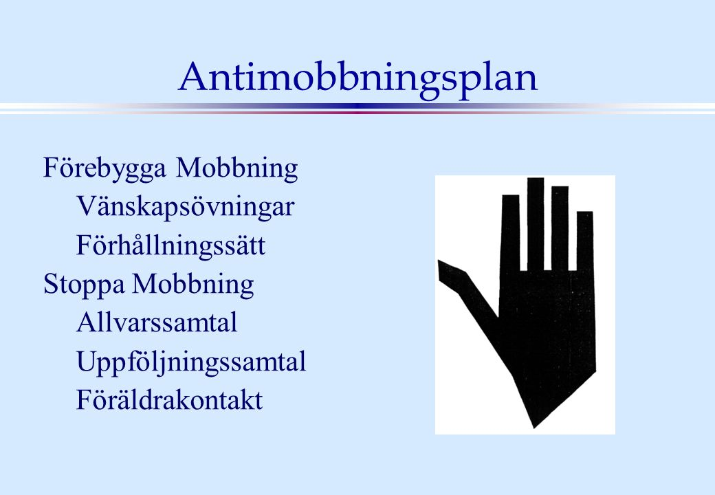 Antimobbningsplan Förebygga Mobbning Vänskapsövningar Förhållningssätt