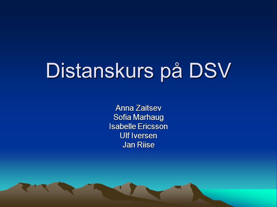 Anna Zaitsev Sofia Marhaug Isabelle Ericsson Ulf Iversen Jan Riise