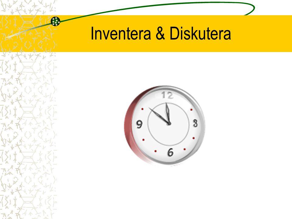 Inventera & Diskutera