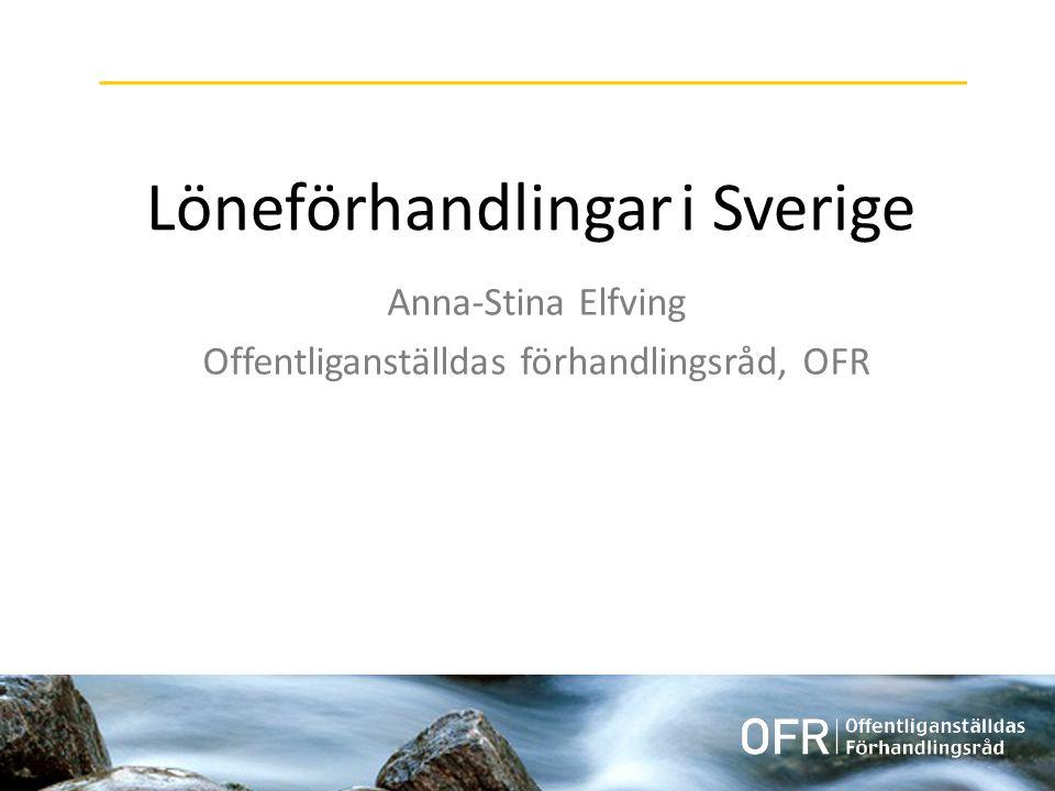 Löneförhandlingar i Sverige