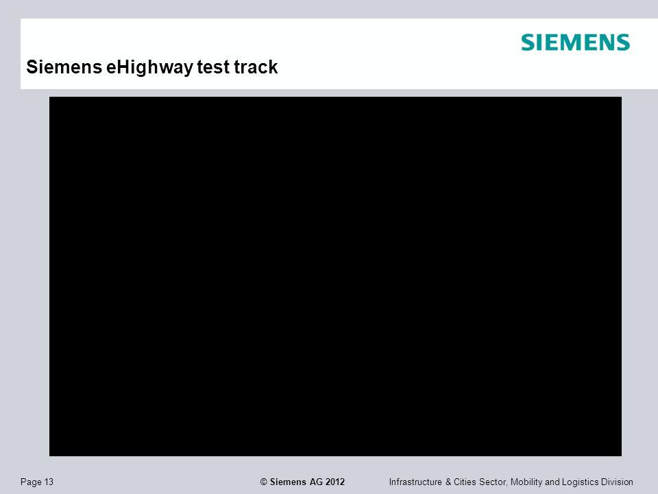 Siemens eHighway test track