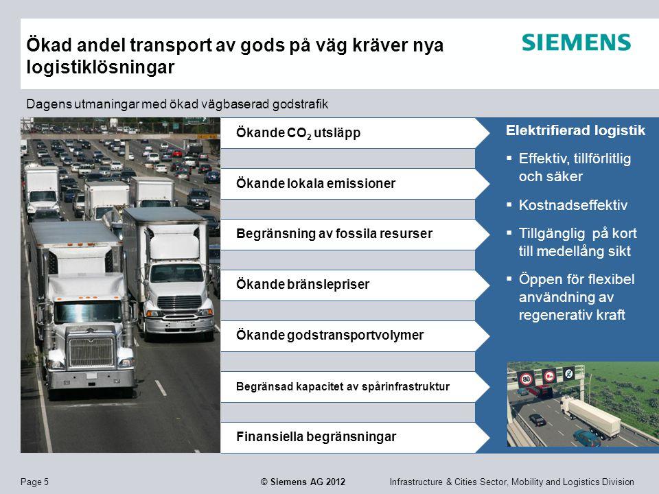 Ökad andel transport av gods på väg kräver nya logistiklösningar