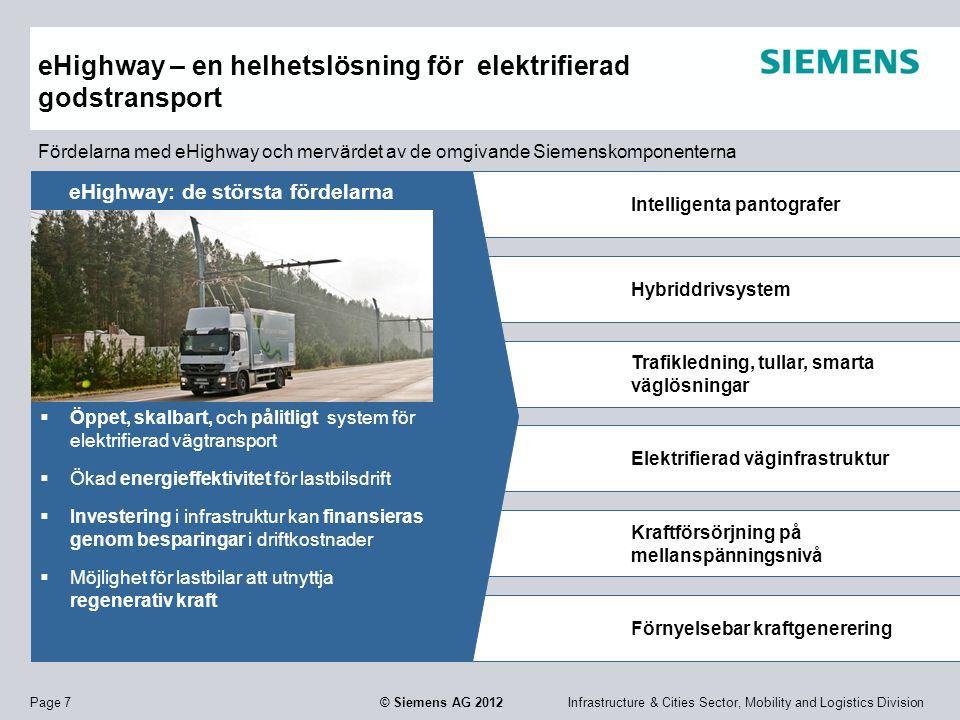 eHighway – en helhetslösning för elektrifierad godstransport