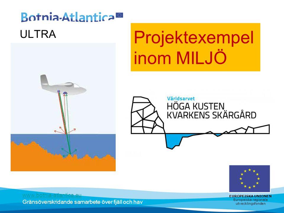 Projektexempel inom MILJÖ
