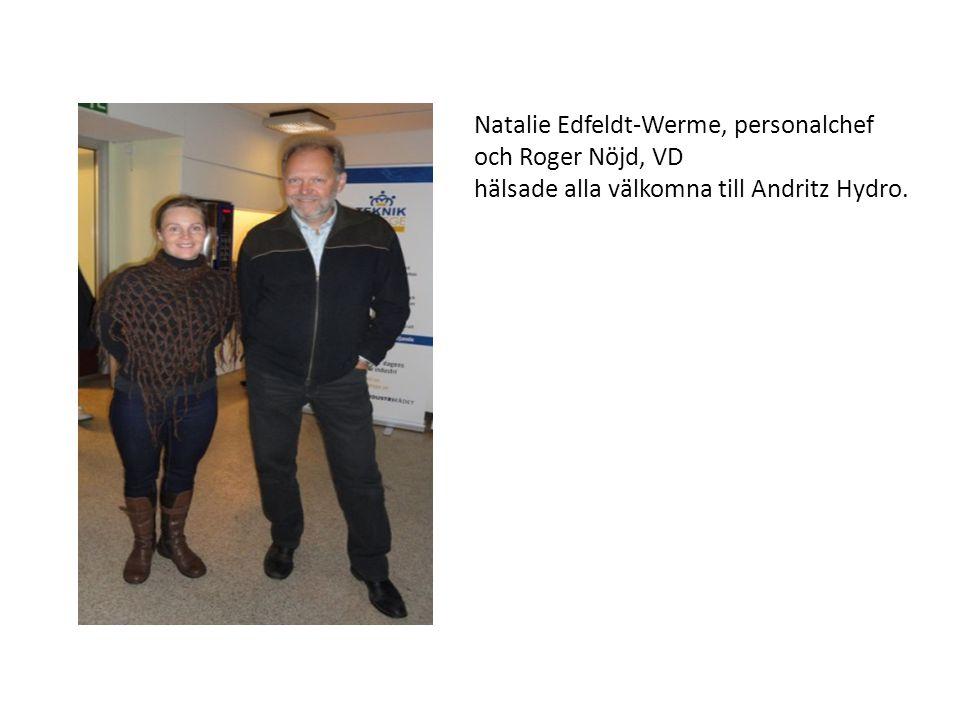 Natalie Edfeldt-Werme, personalchef