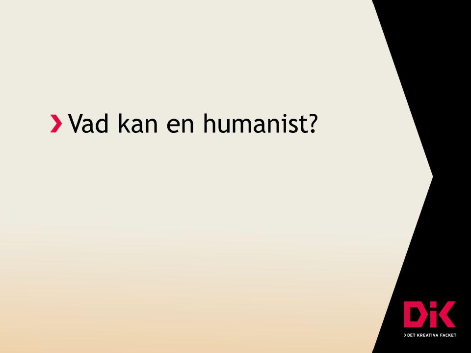 Vad kan en humanist