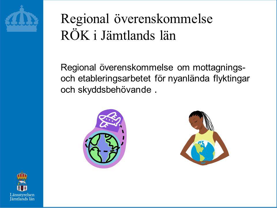 Regional överenskommelse RÖK i Jämtlands län