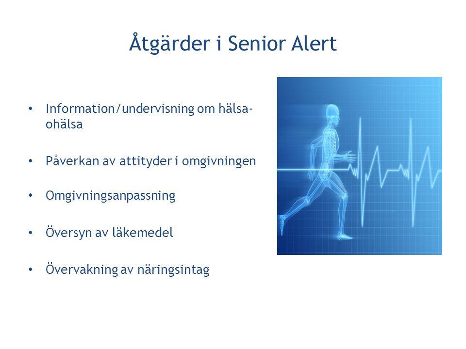 Åtgärder i Senior Alert