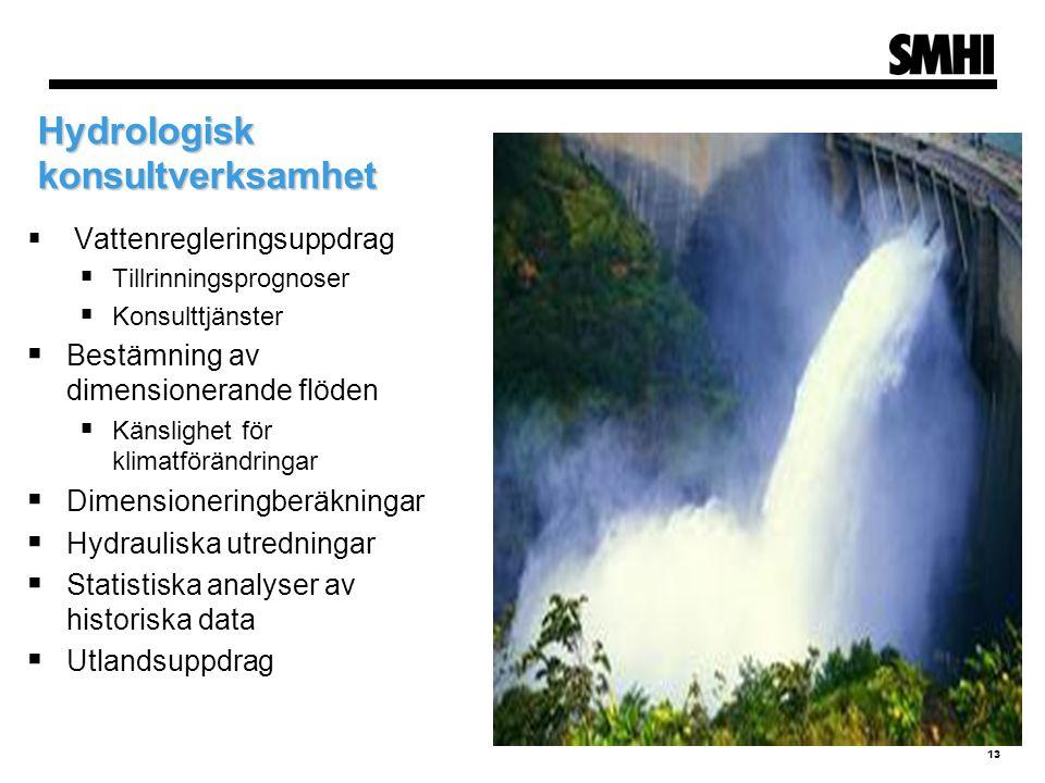 Hydrologisk konsultverksamhet