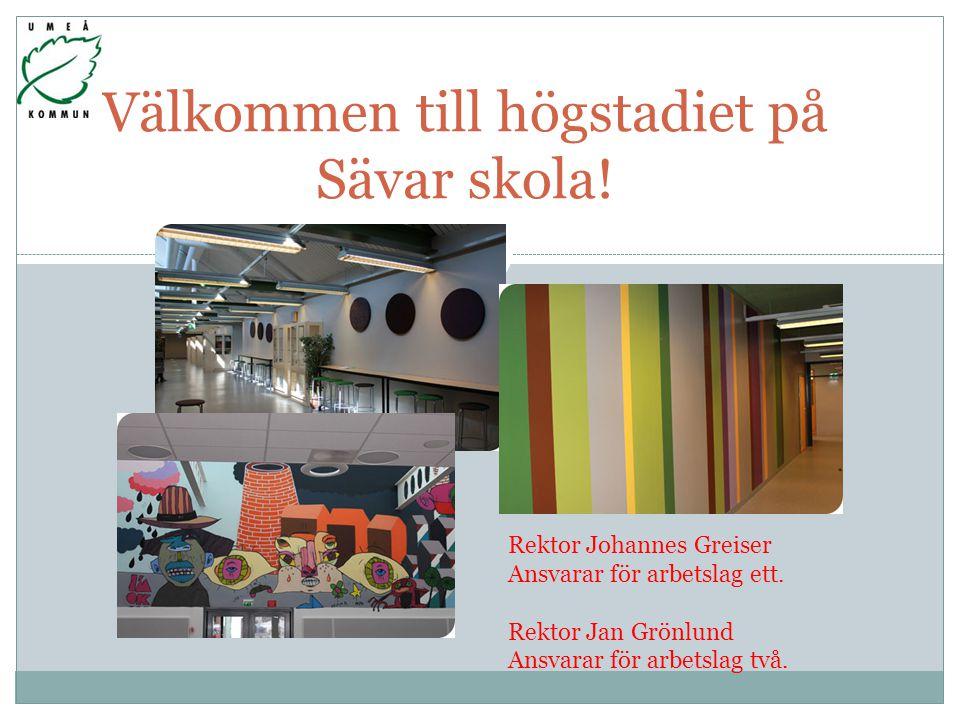 Välkommen till högstadiet på Sävar skola!