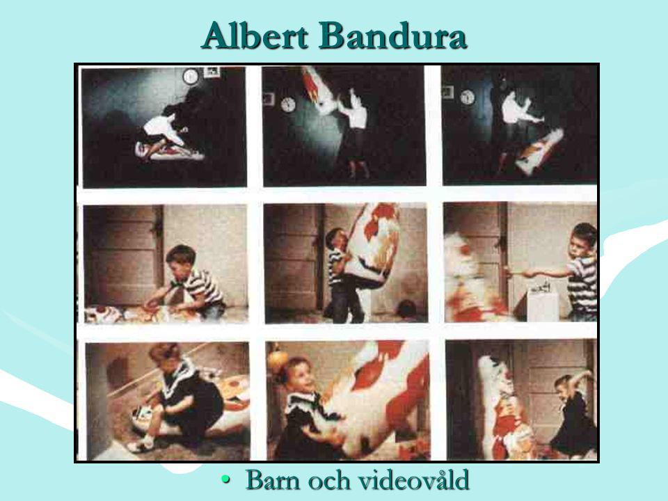 Albert Bandura Barn och videovåld