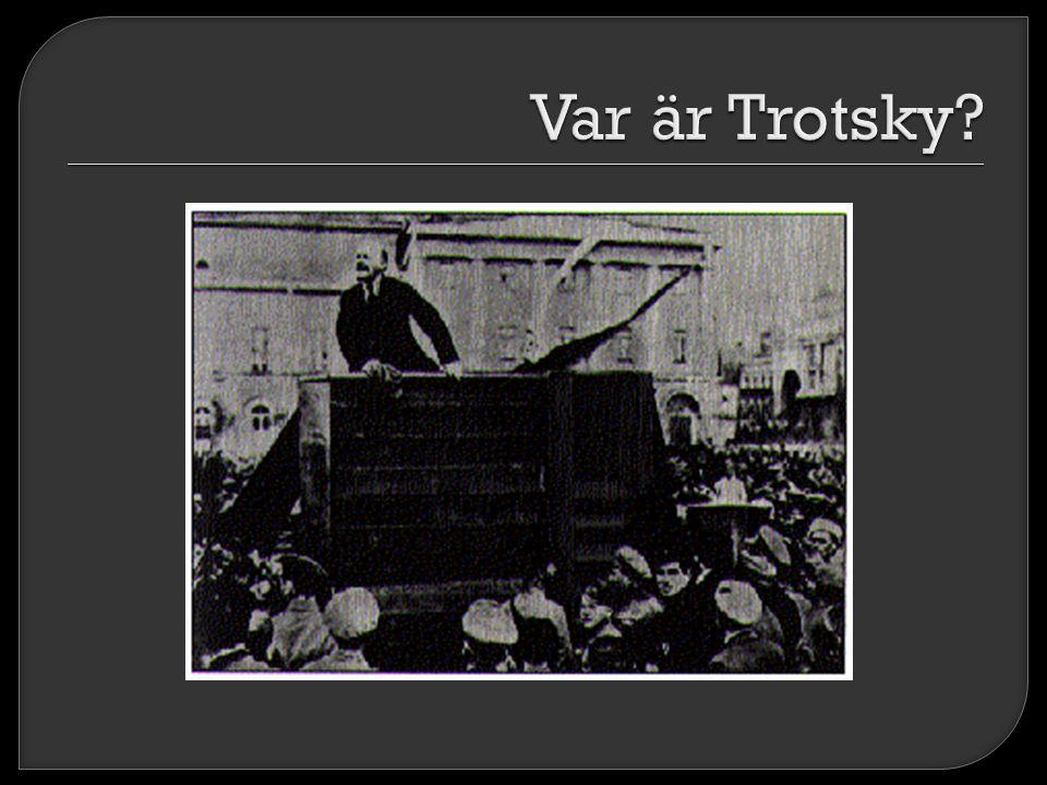 Var är Trotsky