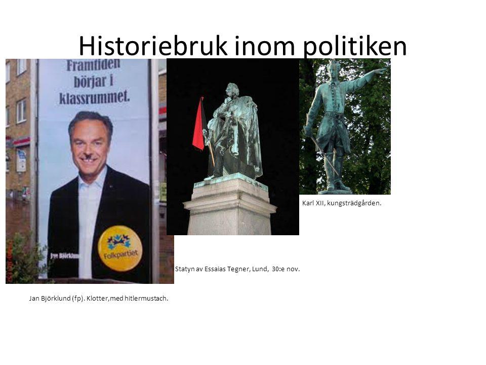 Historiebruk inom politiken