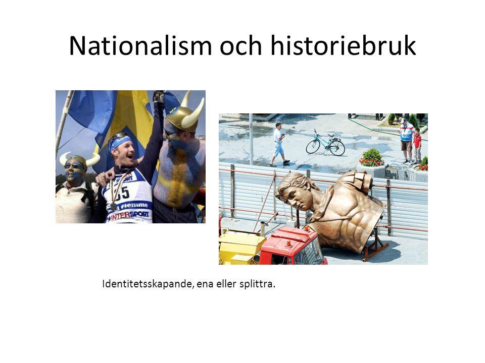 Nationalism och historiebruk