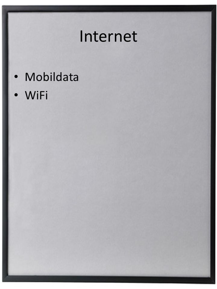 Internet Mobildata WiFi