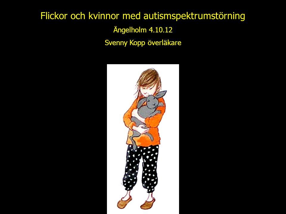 Flickor och kvinnor med autismspektrumstörning