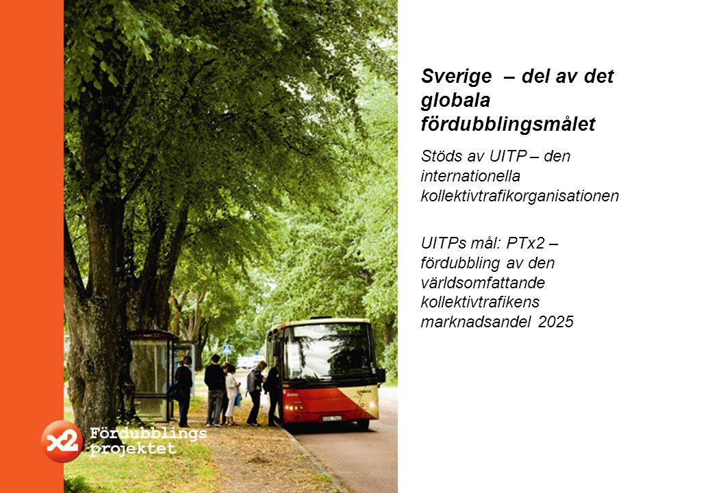 Sverige – del av det globala fördubblingsmålet