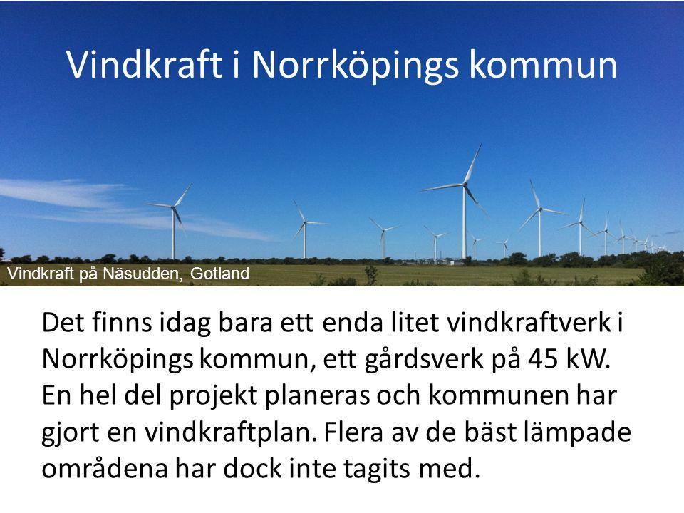 Vindkraft i Norrköpings kommun