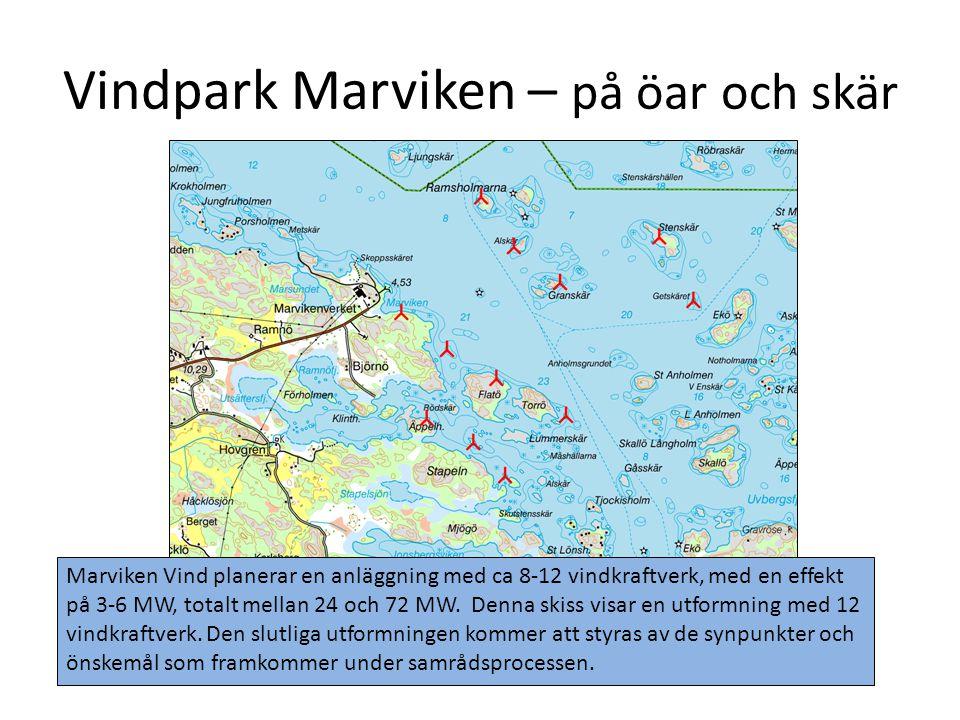 Vindpark Marviken – på öar och skär