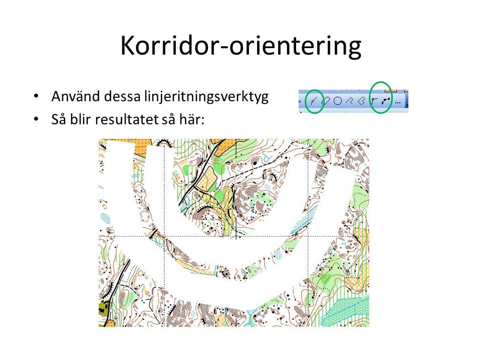 Korridor-orientering