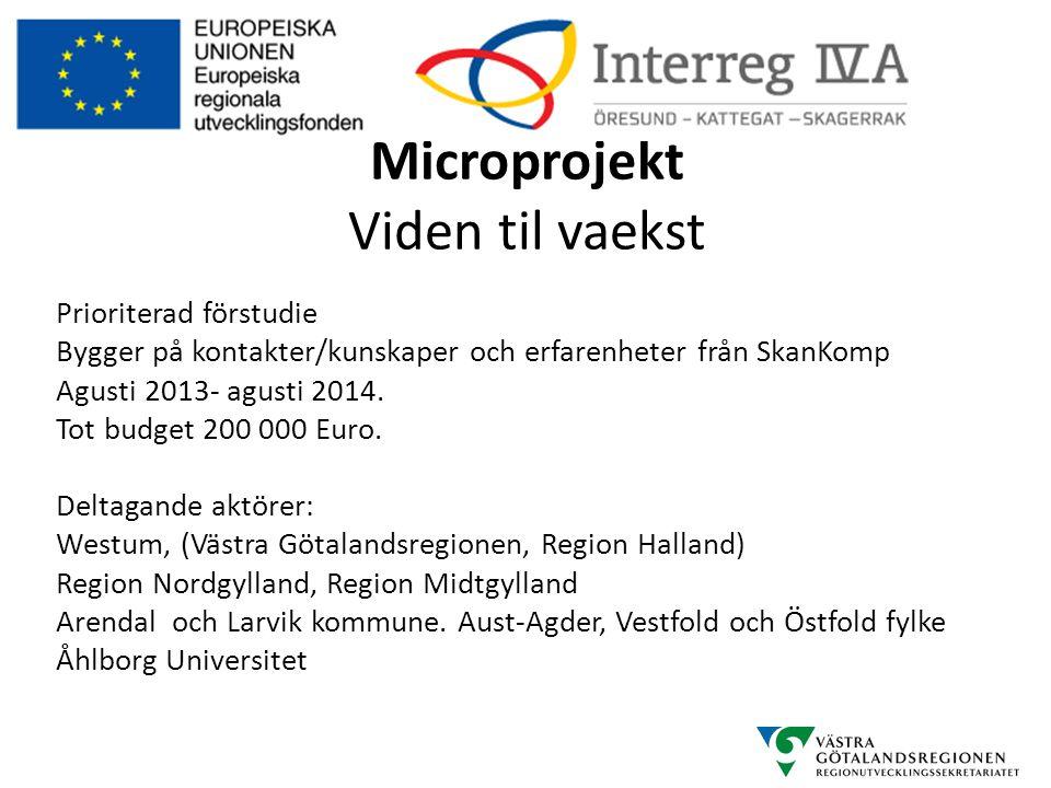 Microprojekt Viden til vaekst