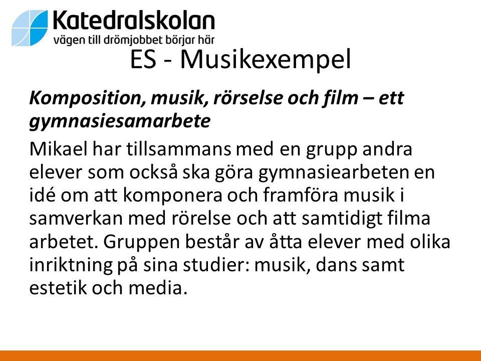 ES - Musikexempel