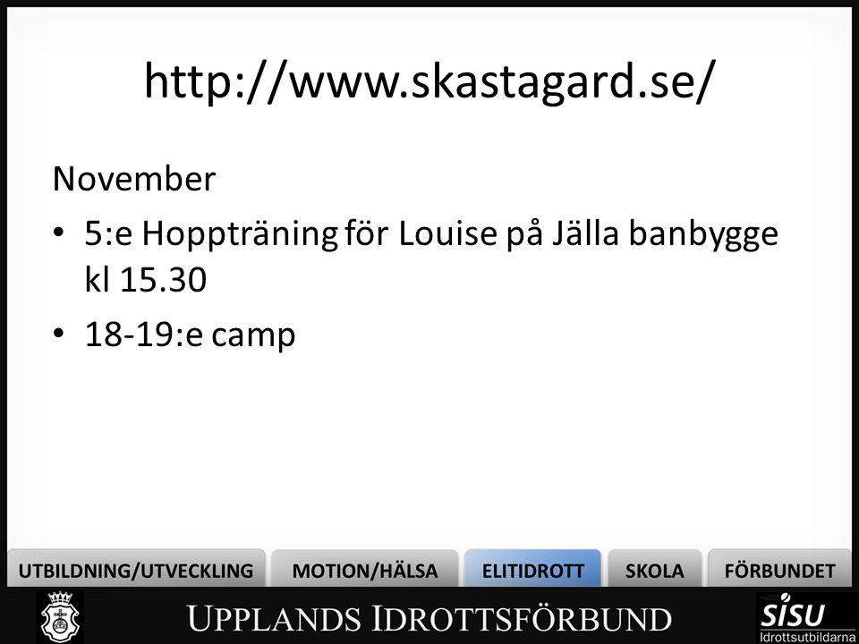 http://www.skastagard.se/ November