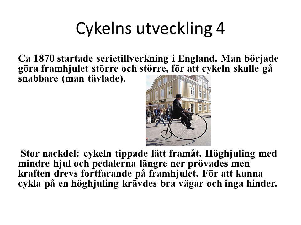 Cykelns utveckling 4