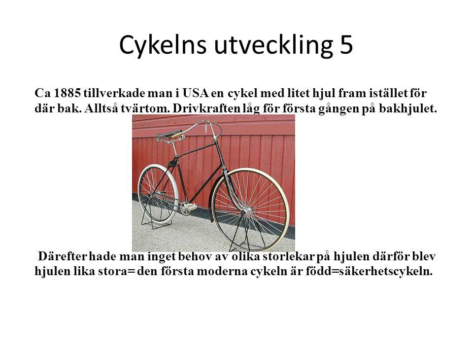Cykelns utveckling 5