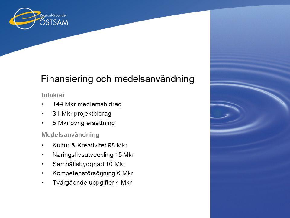 Finansiering och medelsanvändning