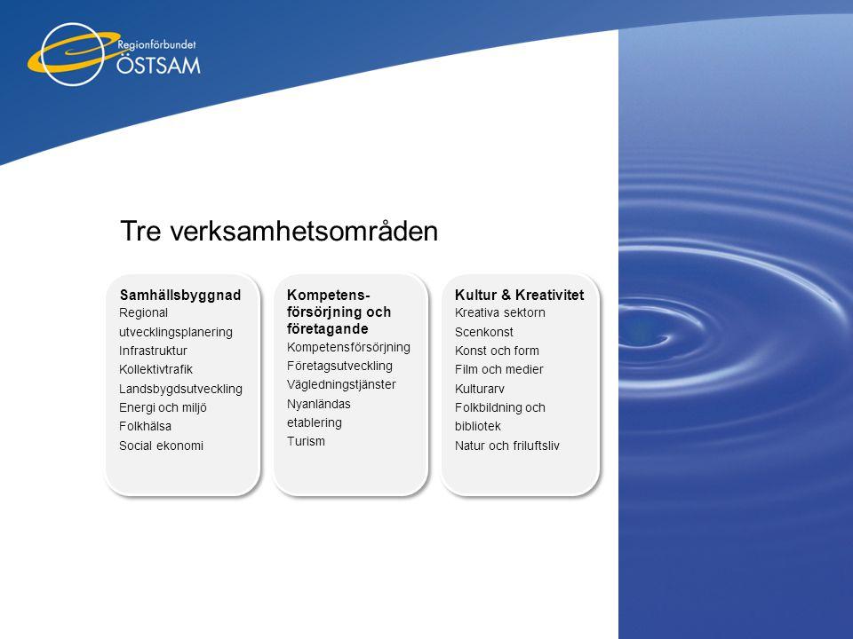 Tre verksamhetsområden