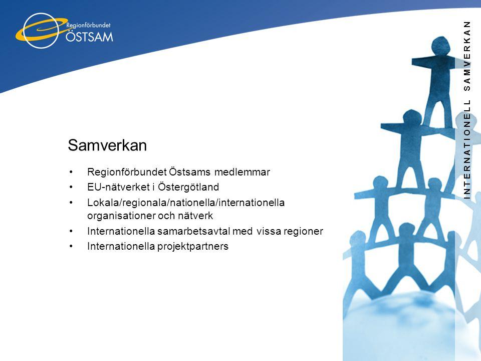 Samverkan Regionförbundet Östsams medlemmar