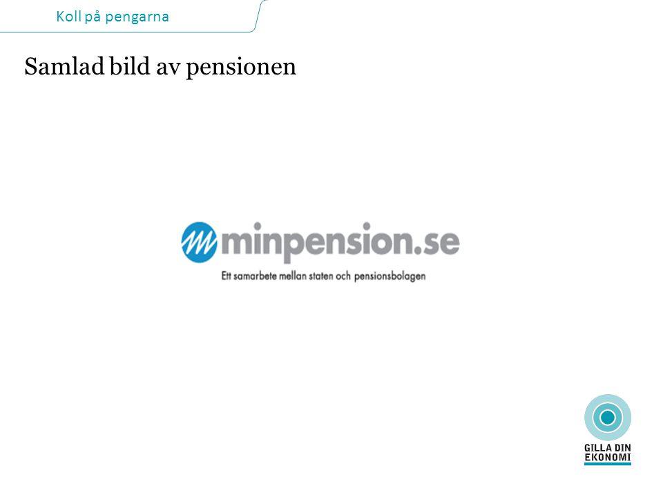 Samlad bild av pensionen