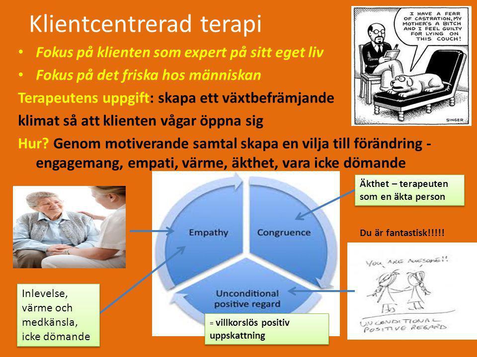 Klientcentrerad terapi