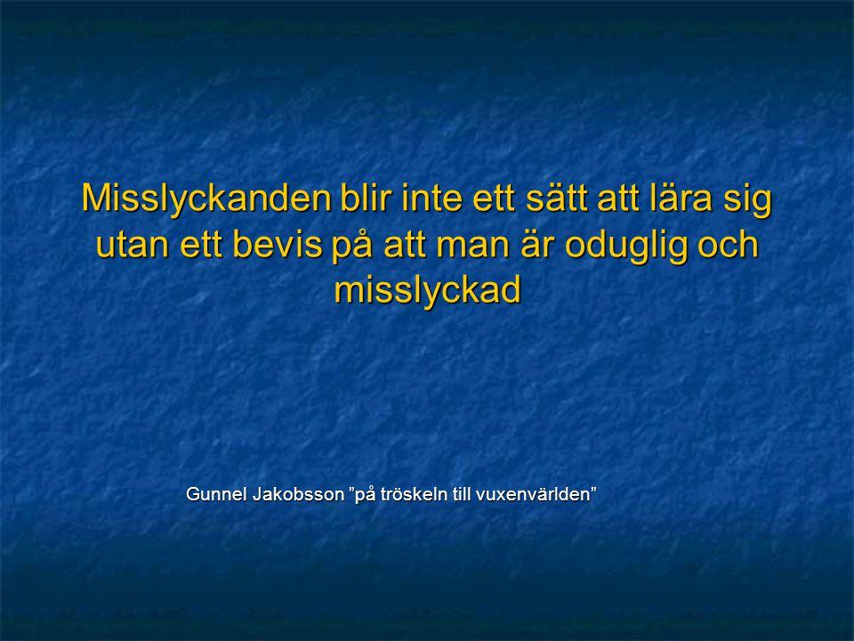 Gunnel Jakobsson på tröskeln till vuxenvärlden
