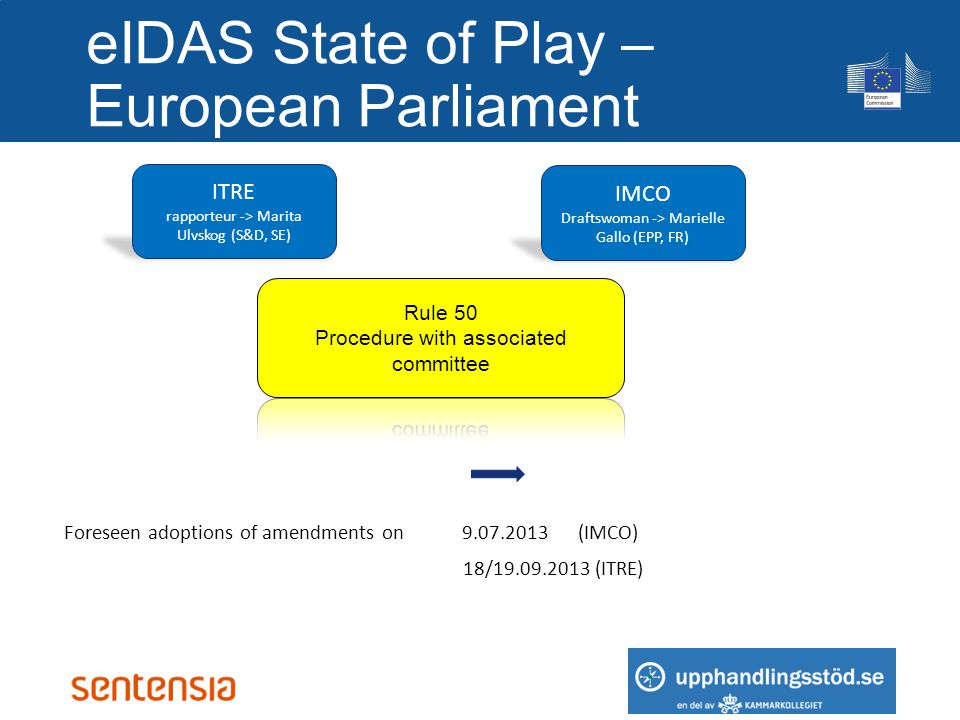 eIDAS State of Play – European Parliament