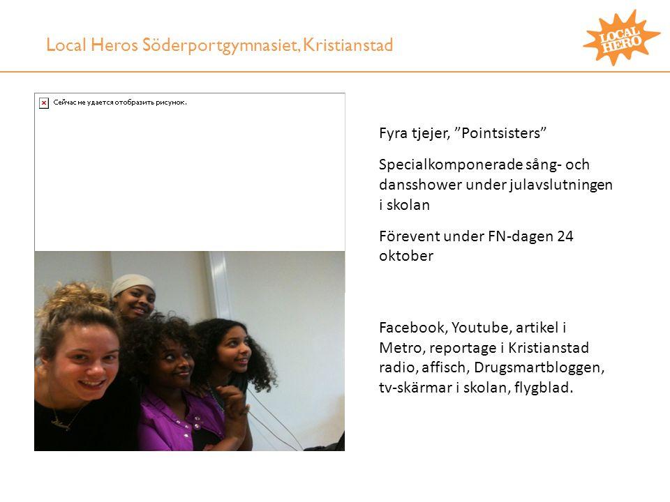 Local Heros Söderportgymnasiet, Kristianstad