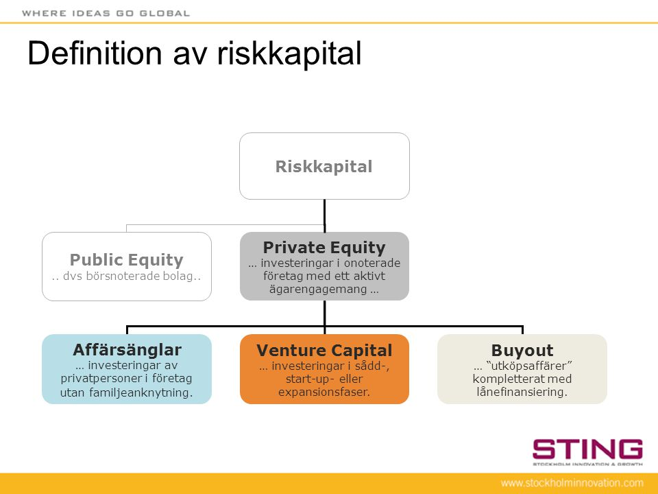 Definition av riskkapital