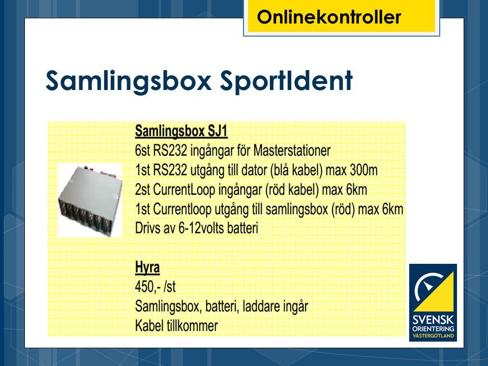 Samlingsbox SportIdent