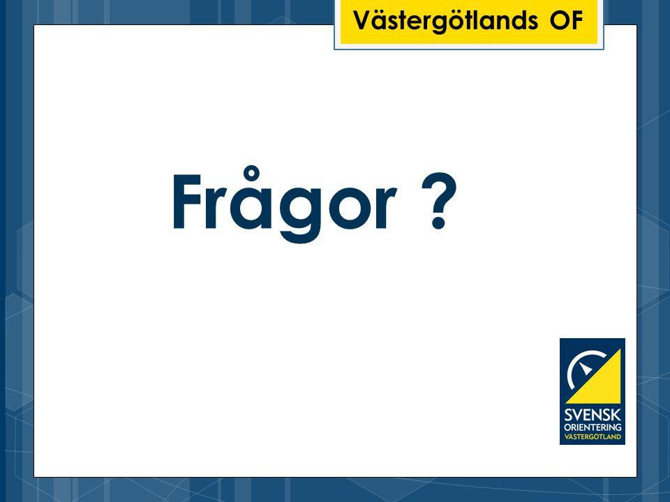 Västergötlands OF Frågor