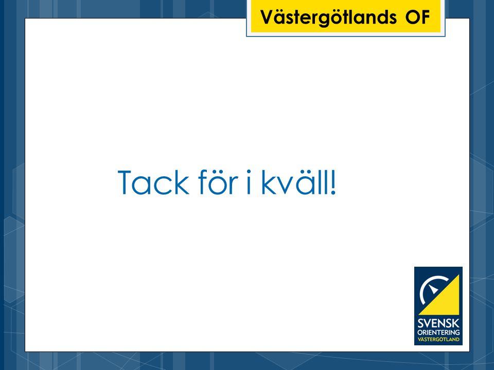 Västergötlands OF Tack för i kväll!