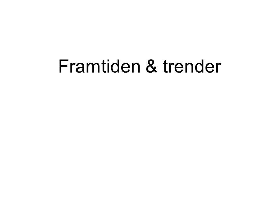 Framtiden & trender