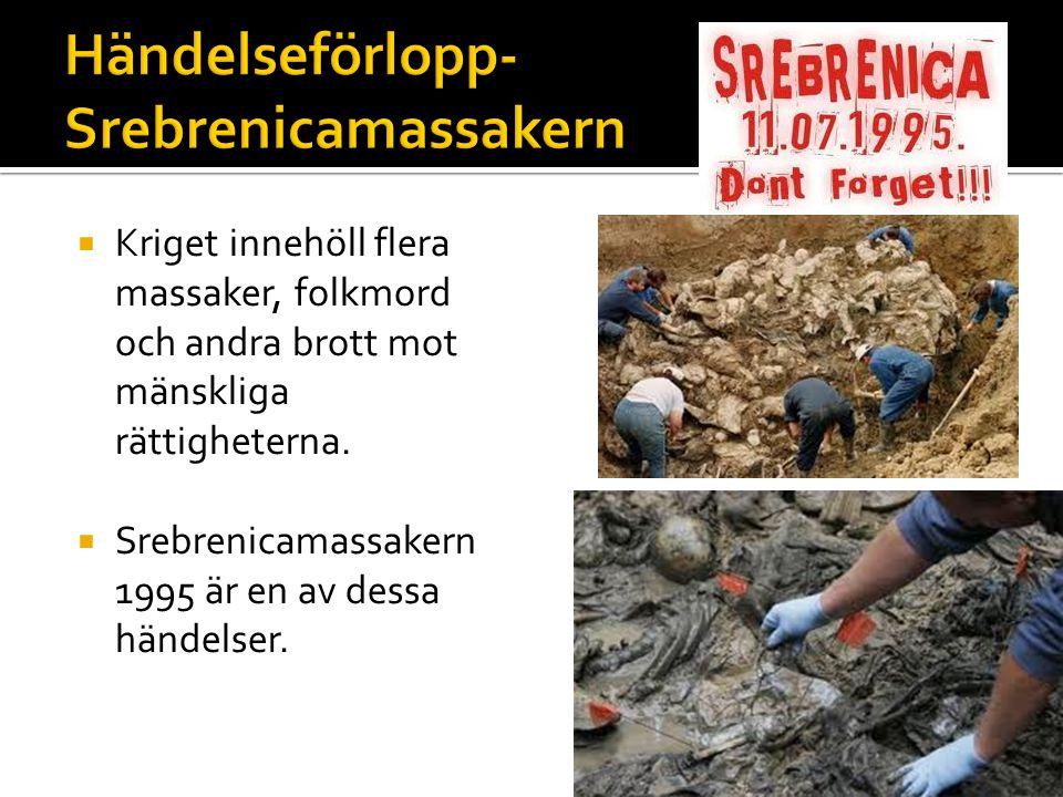 Händelseförlopp-Srebrenicamassakern
