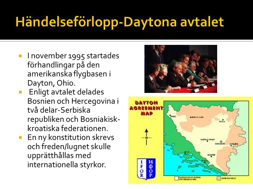 Händelseförlopp-Daytona avtalet